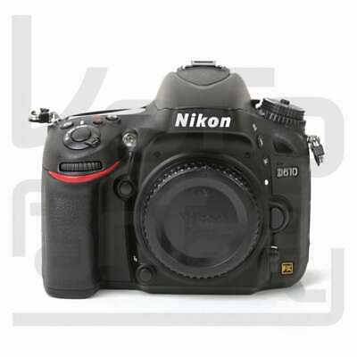 Authentique Nikon D610 Digital SLR Camera Body Only Black