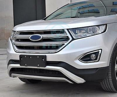 Body Kit Abs Front Bumper Board Protector For Ford Edge