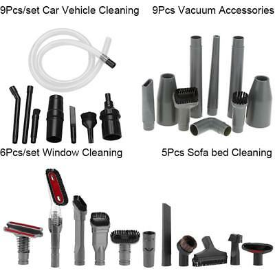 5/6/9Pcs/set Sofa Window Car Vehicle Cleaning Kit Vacuum Cleaner Attachment LJ
