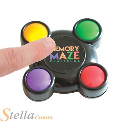 Memory Maze Pocket Light Sequence Remembering Challenge Game