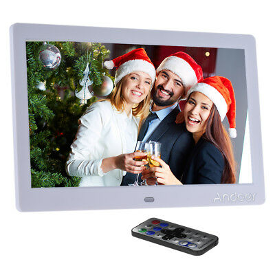 """10"""" inch HD LED 1024*600 Digital Photo Frame Picture Album MP3 MP4 Movie Player"""