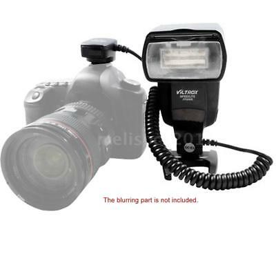 E-TTL Off Camera Flash Speedlite Hot Shoe Sync Cable Cord for Canon DSLR Cameras