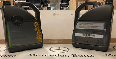 Genuine Mercedes-Benz fully synthetic 5 litre engine oil - 229.51 diesel