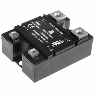 RS Pro 40 A rms SPNO Solid State Relay, Random, Panel Mount Triac, 280 V ac Maxi