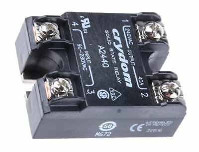 Sensata / Crydom 40 A rms Solid State Relay, Zero Cross, Surface Mount SCR, 280