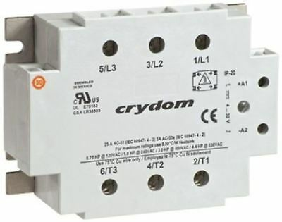 Sensata / Crydom 50 A rms Solid State Relay, Zero Cross, Panel Mount SCR, 530 V