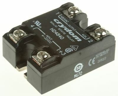Sensata / Crydom 40 A Solid State Relay, Zero Cross, Panel Mount SCR, 530 V Maxi