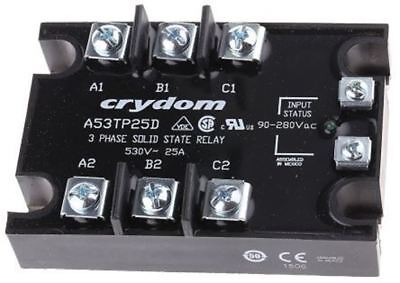 Sensata / Crydom 25 A rms Solid State Relay, Zero Cross, Panel Mount SCR, 530 V