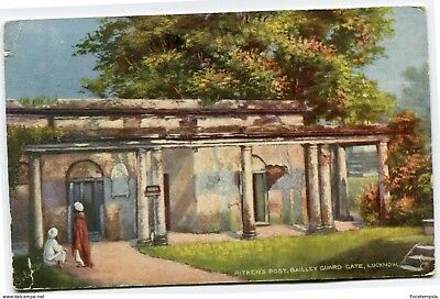 CPA - Carte postale- INDE -  Aitken's Post - Bailley Guard - 1907 (CP2395)