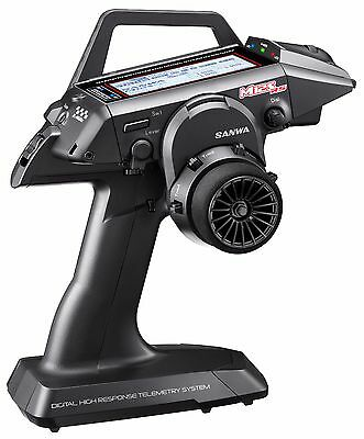 PROMOTION! - SANWA - M12S-RS 2.4GHz transmitter + RX-482 receiver - GALAXY RC
