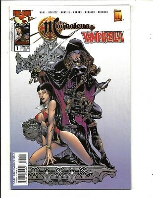 MAGDALENA / VAMPIELLA # 1 (Harris/Image Comics, JULY 2003), VF+