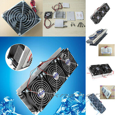 New DIY Core Semiconductor Refrigerator Air/Water Conditioner Cooling Equipment