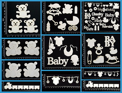 White Chipboard - Baby - Collection Two