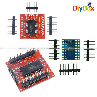 PCF8575 16 bit IIC I2C Extension Shield Module SMBus I/O Ports for Arduino
