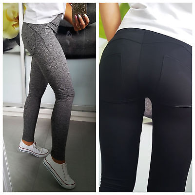 Women Leggings Trousers Push Up Fitness Good Quality NEW 6 8 10 12 14