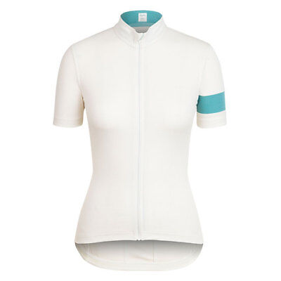 BNWT. Rapha Cream//Teal Womens Lightweight Jersey Size XL