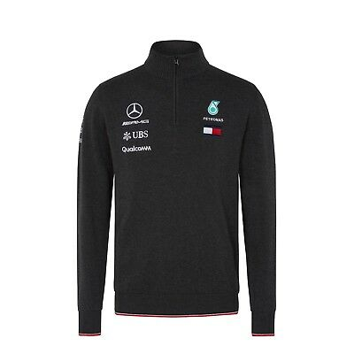 Mercedes AMG Petronas Motorsport F1 Men's Team Knitted Jumper - 2018 - clearance