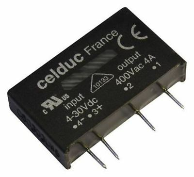 Celduc 5 A Solid State Relay, Zero Cross, PCB Mount, 280 V ac Maximum Load