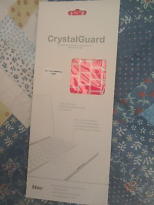 Crystal Guard Keyboard Cover - Pink For apple Macbook 13 / 15