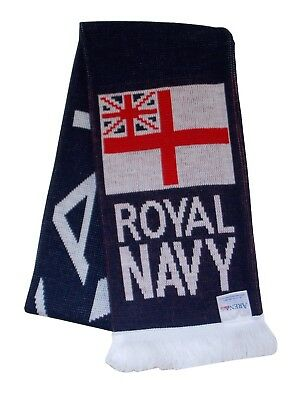Royal Navy Rugby Football Scarf - Made in UK