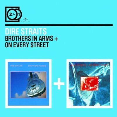 DIRE STRAITS - 2 For 1: Brothers In Arms / On Every Street -  CD