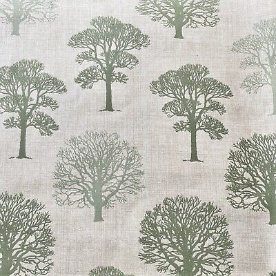 Green Trees 100% Cotton Fabric