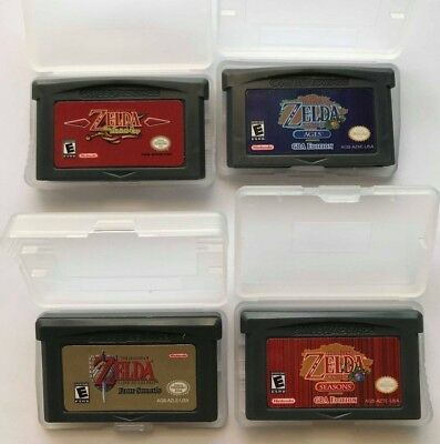 Legend of Zelda: The minish cap Link to the past Oracle of Ages and Seasons GBA