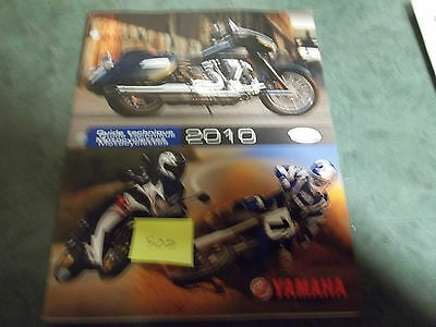 Yamaha dealer manual  technical update motorcycle 2010