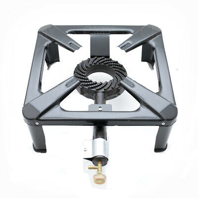 8kw LPG Cast Iron Gas Burner Cooker Catering Commercial Camping Large size