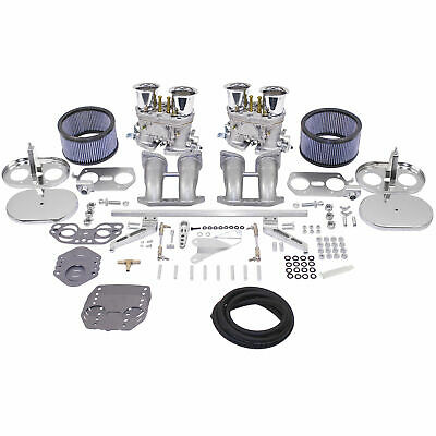 VW TYPE 1 EMPI HPMX WEBER IDF DUAL 44mm CARB KIT BUG BUS GHIA SUPER