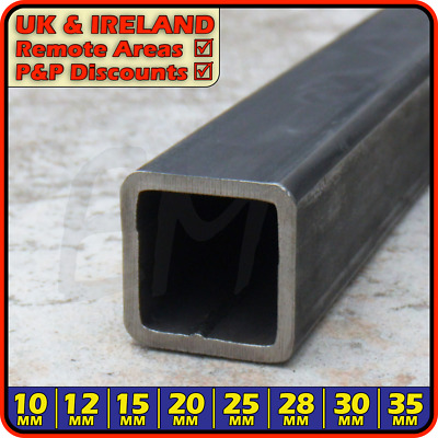 Mild Steel Square Tube ║ 20 x 20 mm ║ box section iron,profile,tubing,pipe