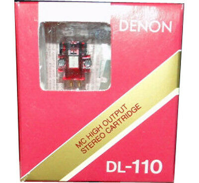 New Denon Dl-110 High Output Moving Coil Phono Cartridge-Free Priority Shipping!
