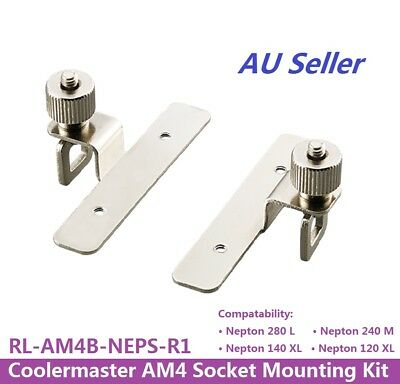 CoolerMaster AM4 Socket Mounting Kit For Nepton Liquid CPUCooler RL-AM4B-NEPS-R1