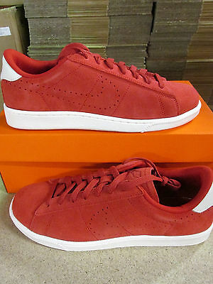 e0966fe7d636 NIKE TENNIS CLASSIC CS Suede mens Trainers 829351 600 Sneakers Shoes ...