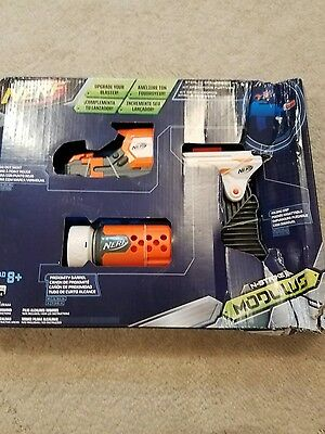 Nerf Modulus Stealth Ops Upgrade Kit Red Dot Sight Proximity Barrel Brand New