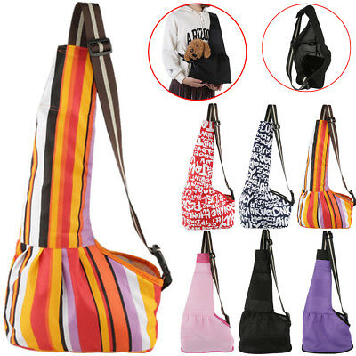 3Types Dog Cat Pet Puppy Cloth Front Travel Carry Bag Shoulder Sling Backpack