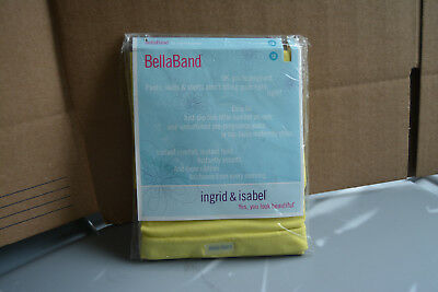 New Bellaband Ingrid & Isabel Women's Maternity Size 2 Belly Band Canary Yellow