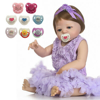 Cute Magnetic Pacifier Dummy For Reborn Baby Dolls Feeding Accessory Toy Gift