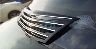 Black Gloss Hi-Q Auto Part Front Grille Grill Trim Fit For Kia K5/Optima 14-2015