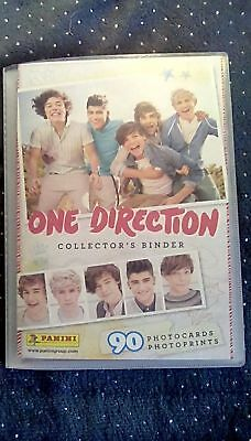 One Direction Collector's Binder 90 Photocards Raccoglitore Completo Panini