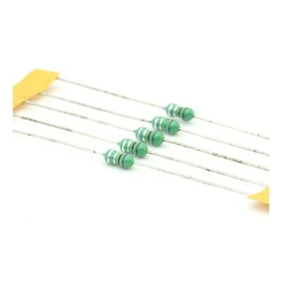 5x Inductance 0.82uH ±20% Axial - TOP-VIEW COILS - 131ind009