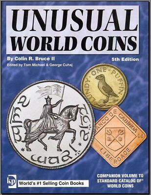 "Digital Book ""UNUSUAL WORLD COINS"" NEW 5TH EDITION - KRAUSE"