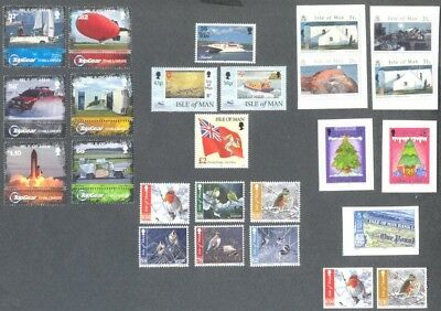 Isle of Man various issue mnh