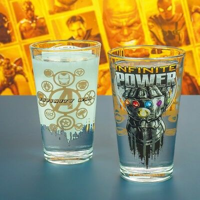 Vaso Vengadores Infinity War - Producto Oficial Marvel - Avengers