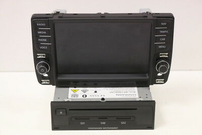 Vw Passat B8 Discover Pro Rechner Bildschirm Main Unit Display 3G0035021