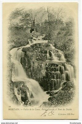 CPA - Carte postale -France -Mortain - Vallée de la Cance - Petite Cascade