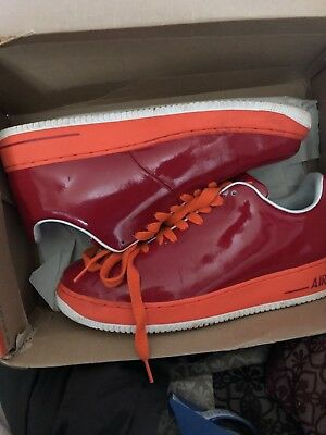 pretty nice 9d716 1b64d Nike Air Force 1 Supreme Seamless Edition Size 13 Varsity Red White  313644-681