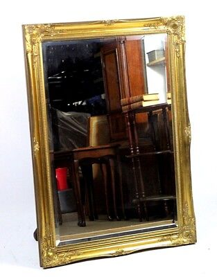 Antique Style Ornate Gilt Framed Wall Mirror - FREE Shipping [PL4437]