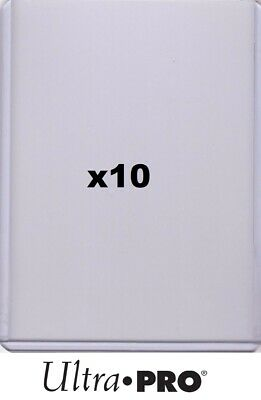 """Ultra Pro 3""""x4"""" Clear Regular Toploader (x10) for Extra Trading Card Protection"""