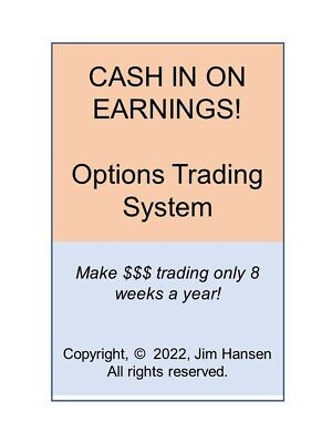 Options Trading - HUGE Profits Trading Just 8 Weeks A Year!